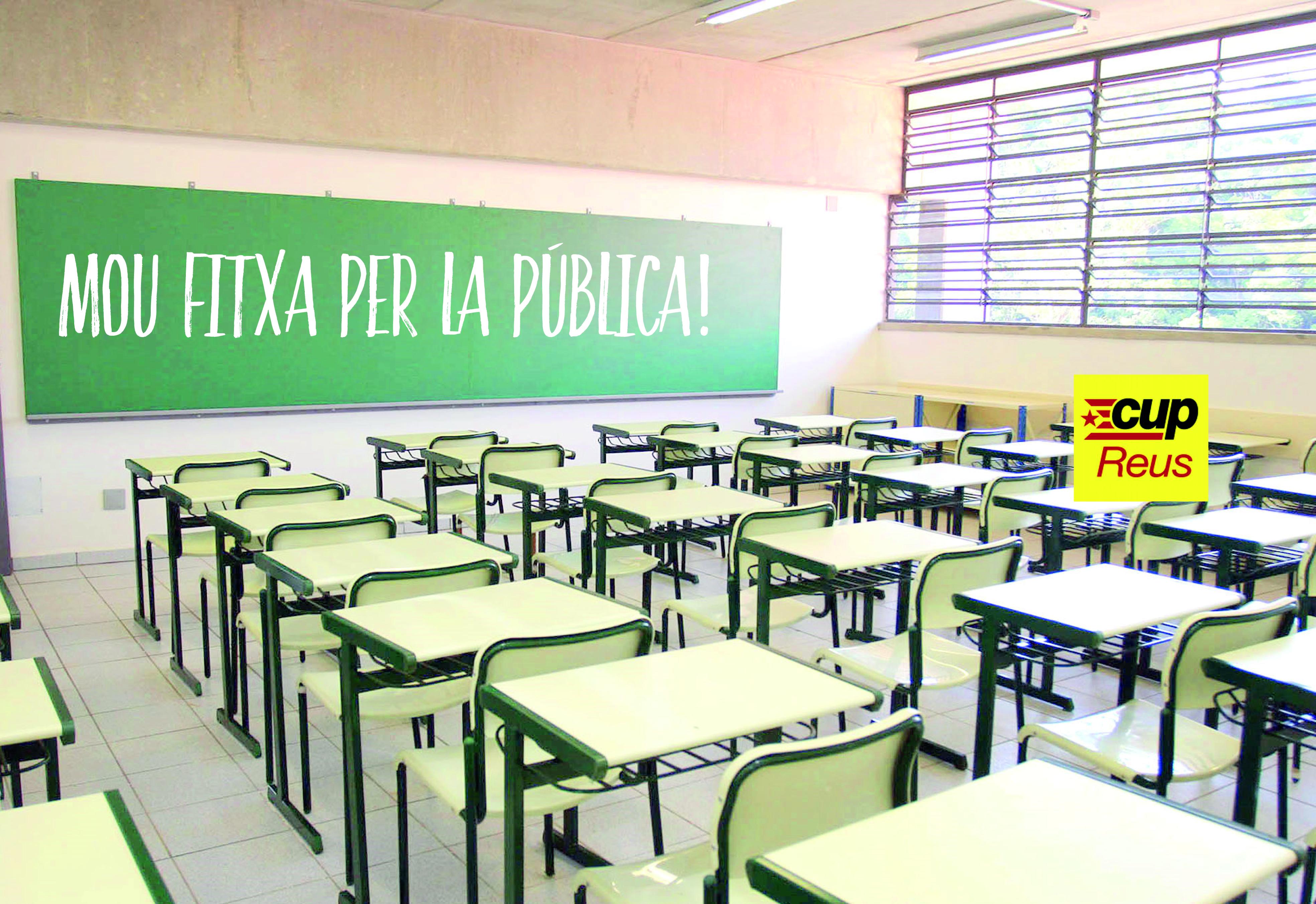 escola pública reus