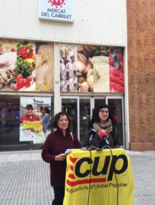 La CUP al Mercat del Carrilet