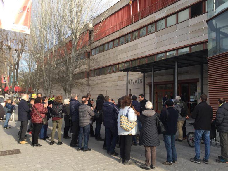 Concentracio jutjats Reus Oriol Ciurana