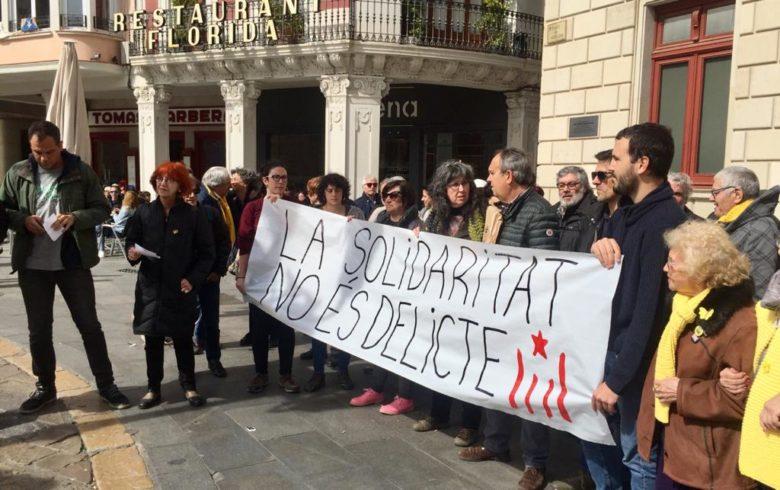 La solidaritat no és delicte cartell