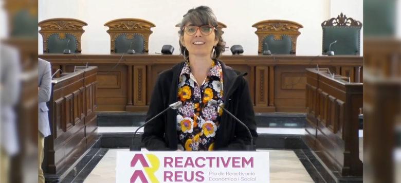 Marta Llorens presentació Pla Estratègic Reactivació Econòmica i Social