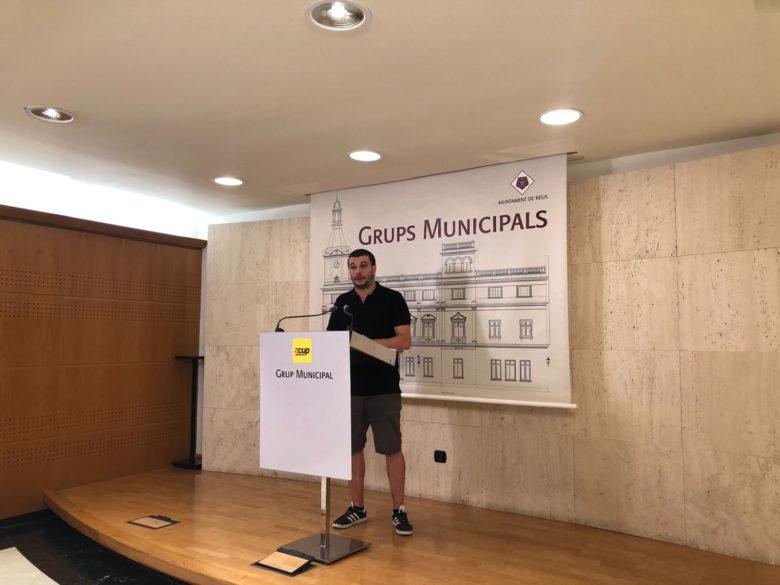 Edgar Fernandez Comissió treballl barris