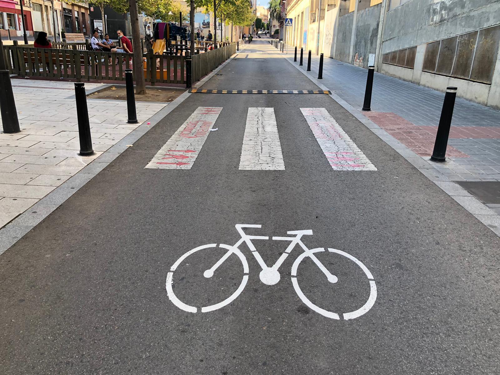 Mobilitat amb bicicleta per la ciutat de Reus