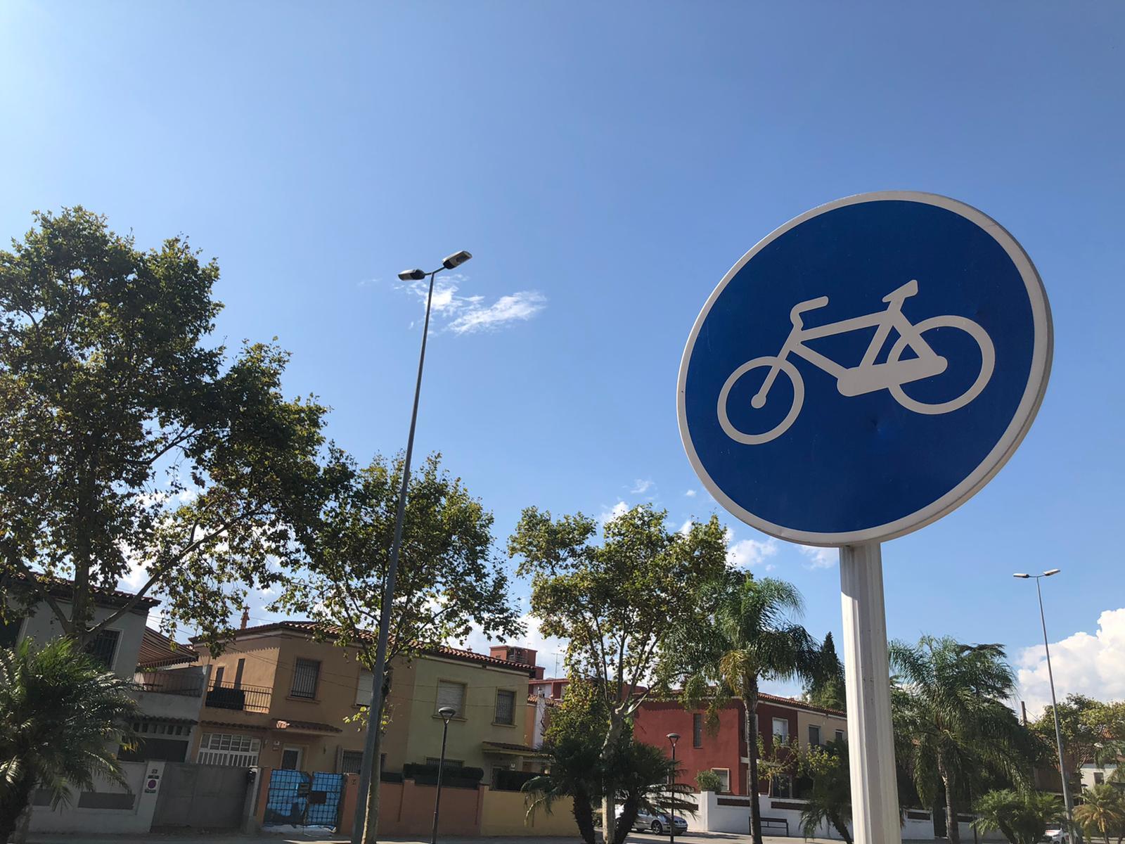 senyal carrils bici a Reus
