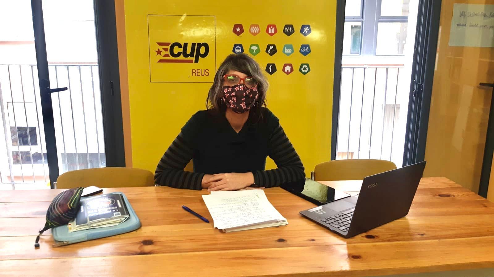 Marta Llorens CUP Ordenances Reus