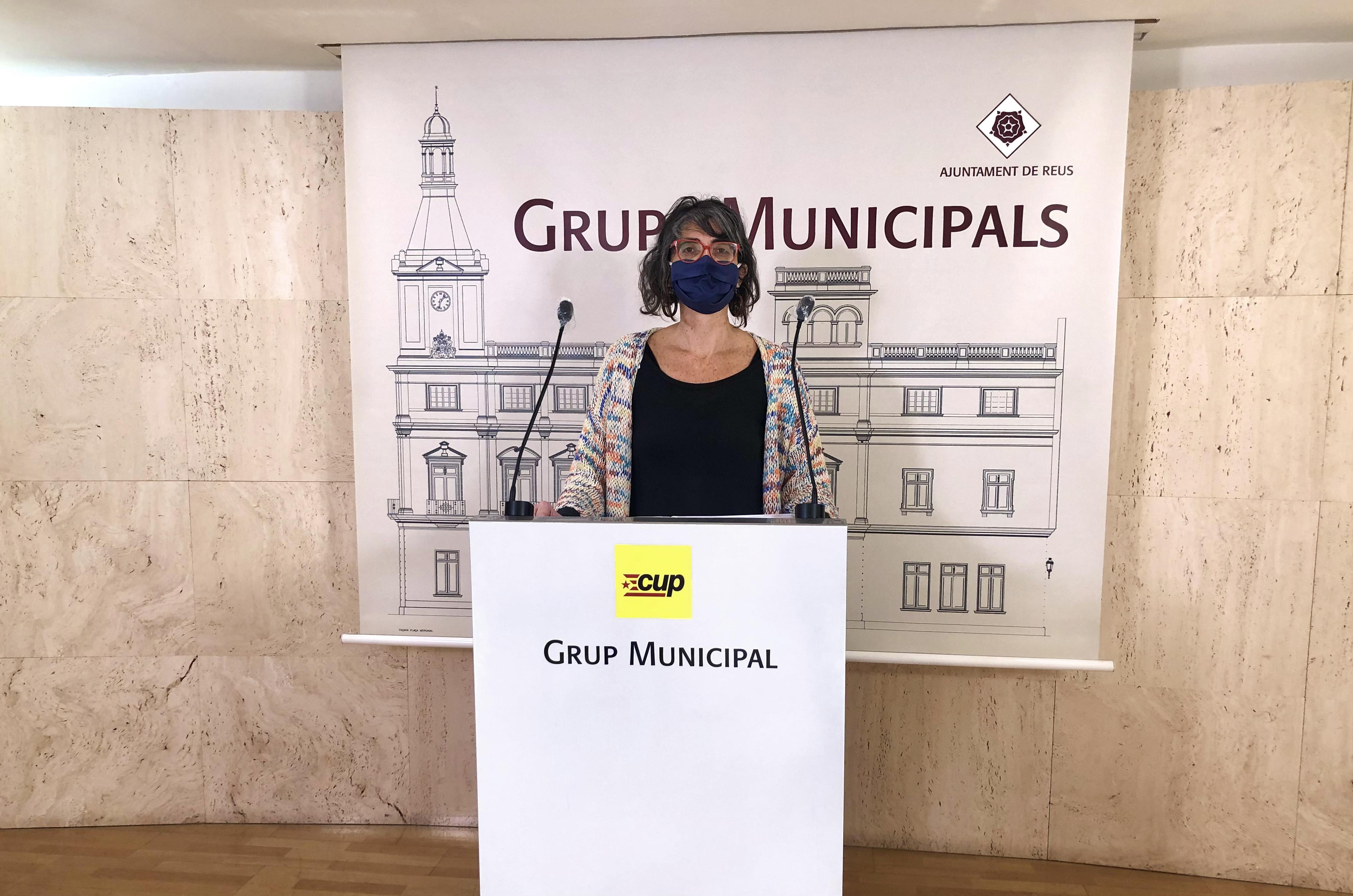Marta Llorens CUP licitacio servei recollida de residus reus