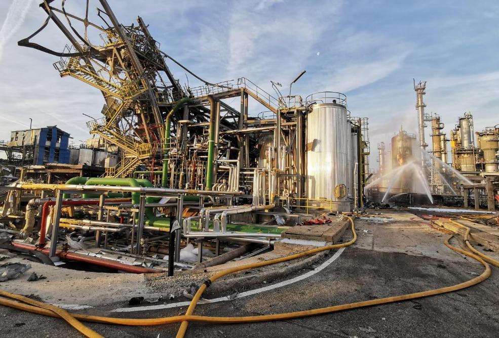 Explosió IQOXE La Canonja - CUP denuncia irregularitats