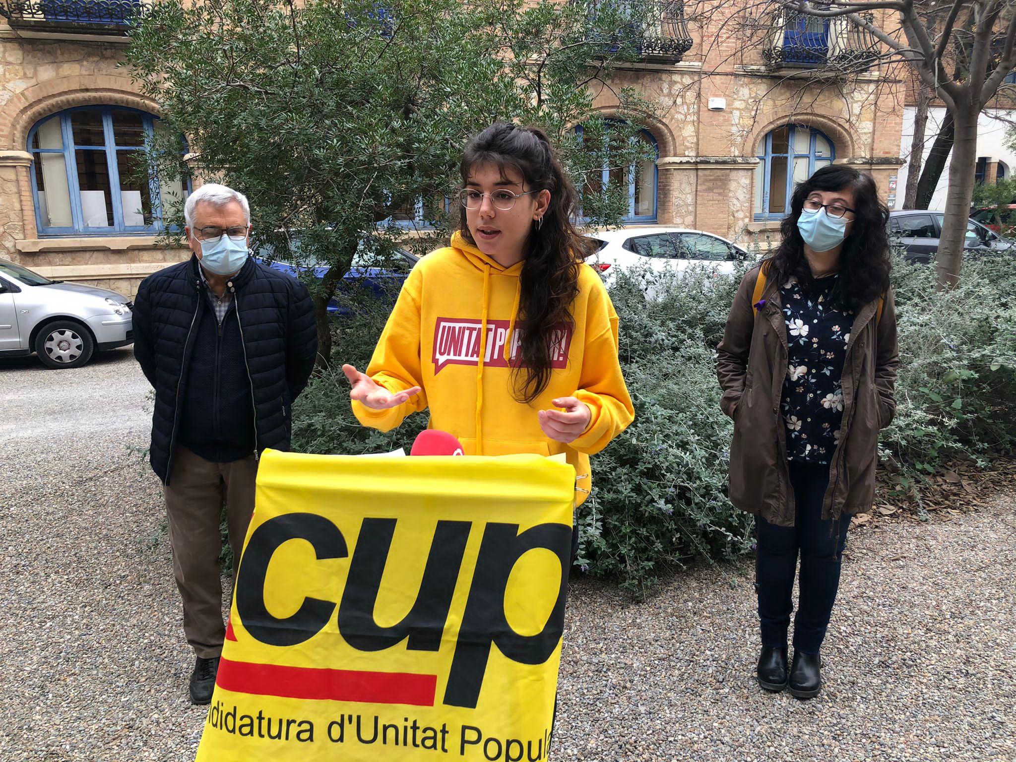 La CUP al CCBC