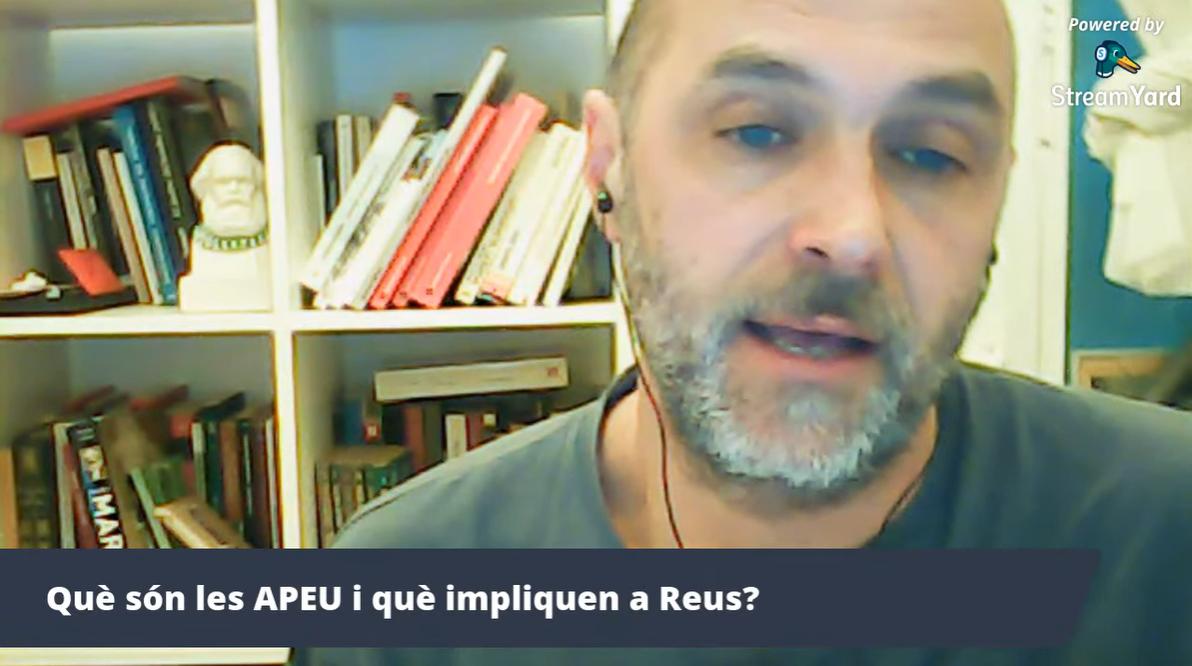 Jose Mansilla a la xerrada de les APEU Reus