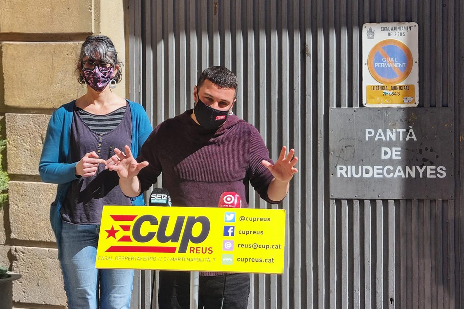 La CUP exigeix a la Comunitat de Regants la retirada de la querella contra la Plataforma pel Riu Siurana