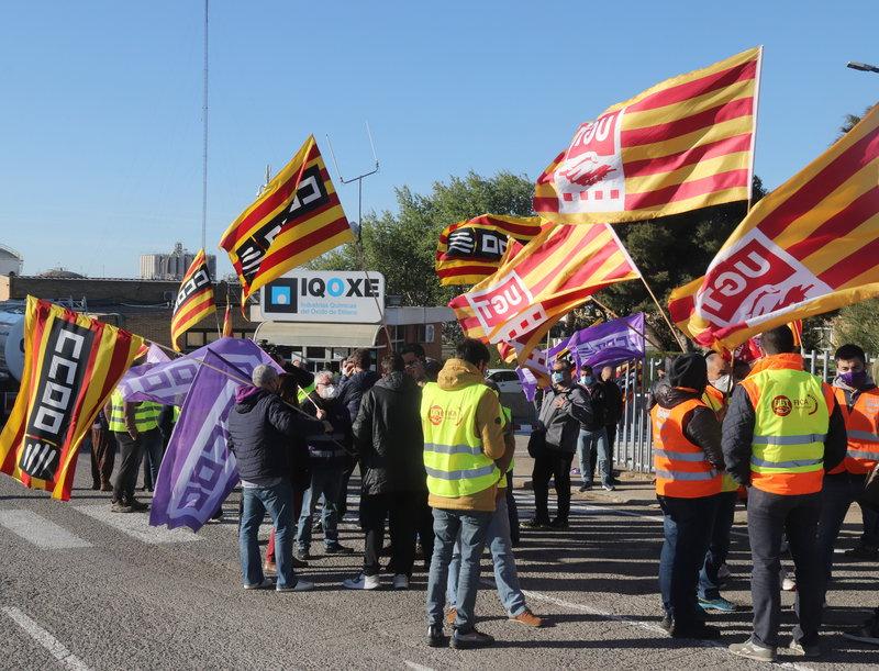 Vaga de treballadors d'IQOXE a Tarragona